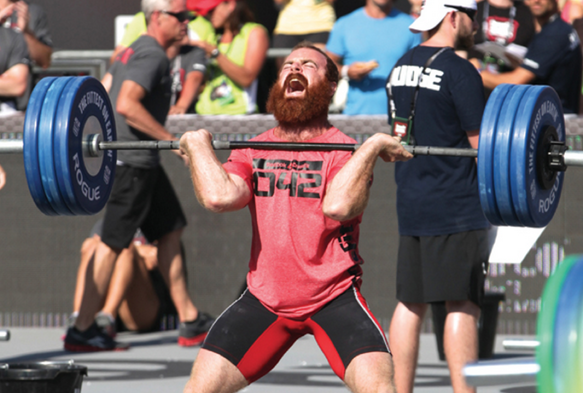 Max Clean Test At The 2017 Crossfit Games